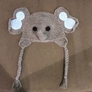 Other - Hand made Elephant beanie 1yr old